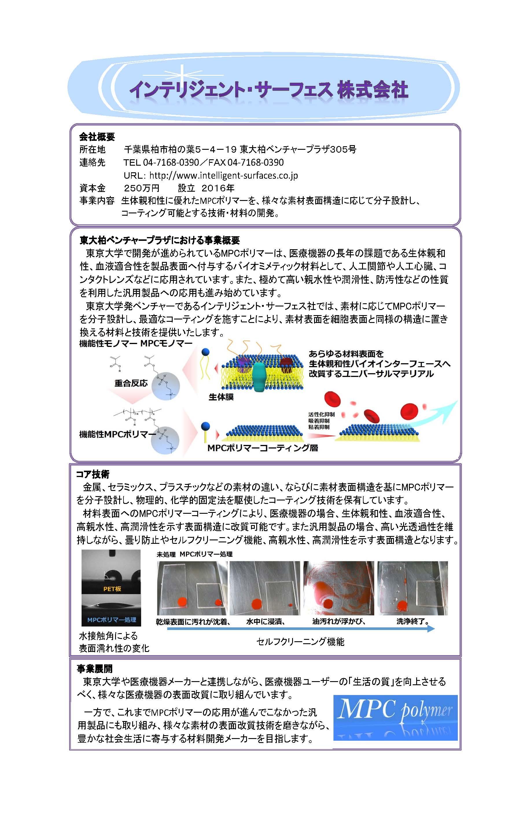 企業紹介_インテリジェント・サーフェス株式会社